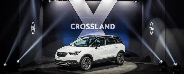 Pregateste-te sa admiri noul Opel Crossland X in primul set de imagini reale