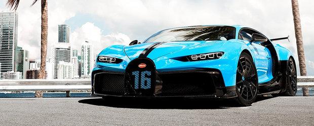 Pregateste-te sa fii uimit. Bugatti anunta consumul noului Chiron Pur Sport