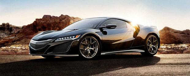 Pregateste-te sa fii uimit: Honda anunta pretul noii generatii NSX