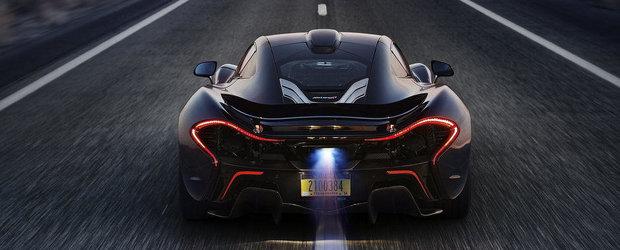 Pregateste-te sa ramai socat: McLaren anunta performantele noului P1