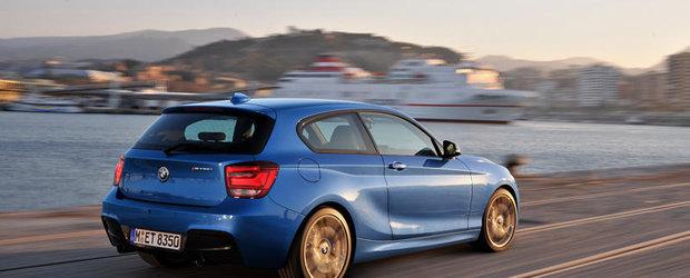 Pregatite pentru lansare: noul BMW Seria 1 in varianta cu trei usi