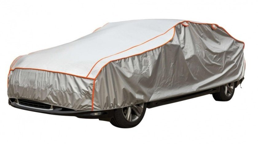 Prelata auto anti grindina, husa exterioara protectie, marime L 480x177x119cm