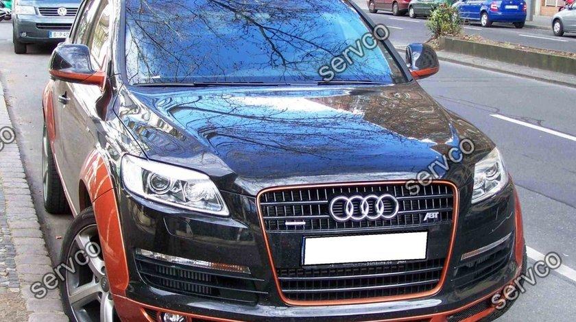 Prelungire ABT extensie lip buza tuning sport bara fata Audi Q7 AB Look Sline 2005-2009 v1