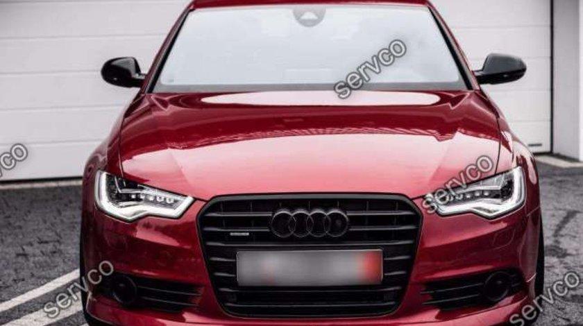 Prelungire ABT extensie Sline adaos bara fata Audi A6 4G C7 S6 Rs6 2011-2014 v1