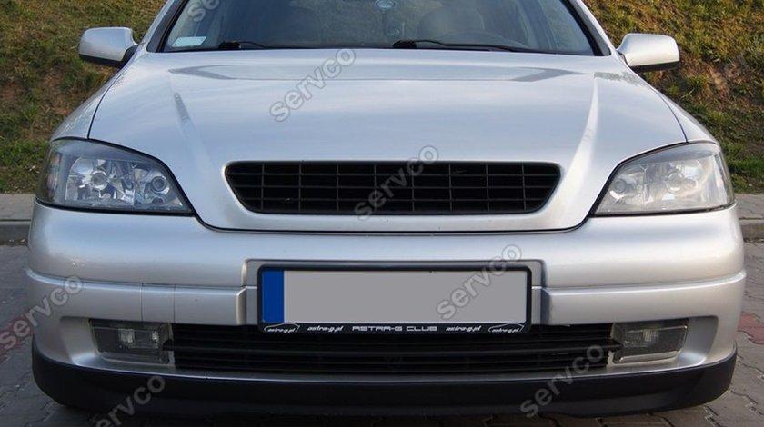 Prelungire adaos buza tuning sport spoiler bara fata Opel Astra G OPC Line 1998-2011 v3