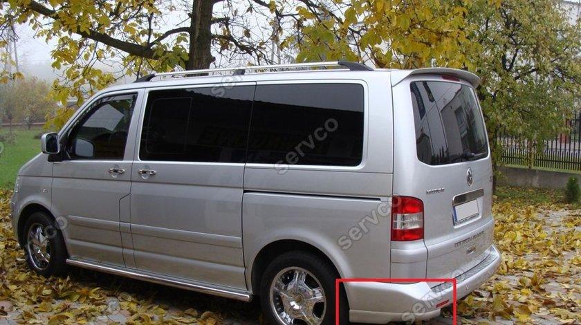 Prelungire adaos difuzor tuning sport bara spate VW T5 Transporter Multivan Caravelle 2003-2015 v1
