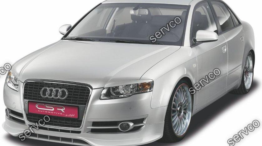 Prelungire adaos extensie buza bara fata Audi A4 B7 CSR FA066 2004-2009 v4