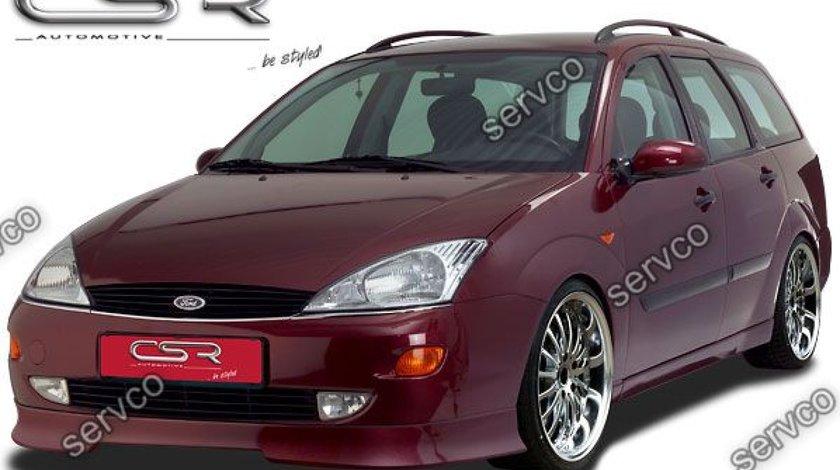Prelungire adaos extensie buza bara fata Ford Focus MK1 CSR FA058B 1998-2001 v2