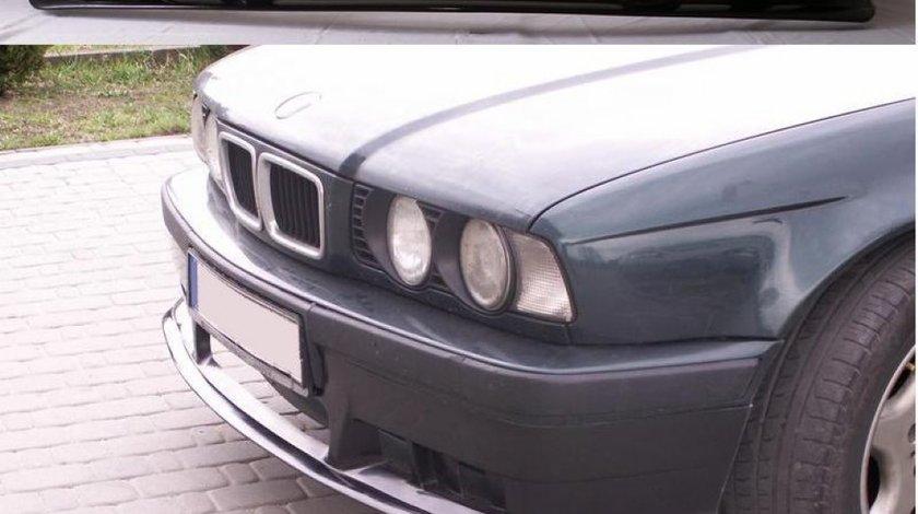 Prelungire adaos fusta extensie lip buza bara fata BMW E34 pachet M tech Aerodynamic