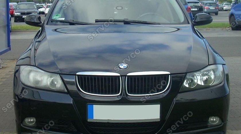 Prelungire adaos fusta lip buza bara fata BMW E90 pachet M tech Aero 2005-2008 v2