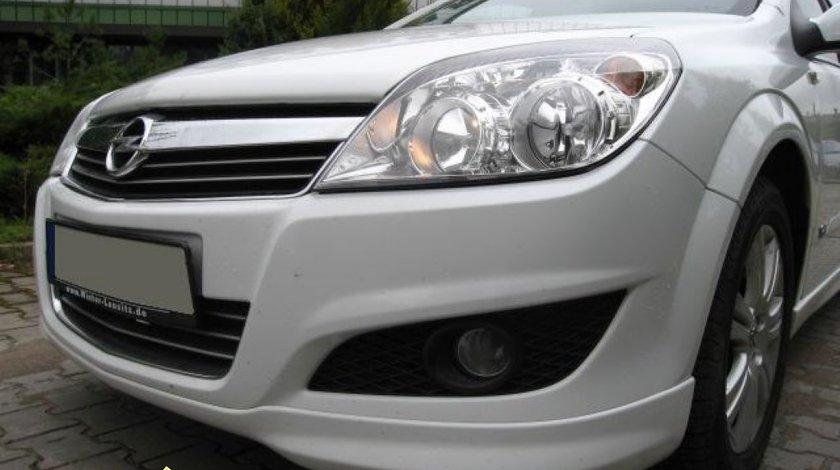 Prelungire adaos fusta spoiler bara fata Astra H Facelift 2007 Opc line opcline 1
