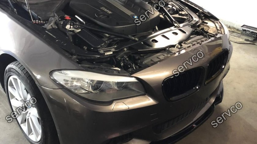 Prelungire adaos lip bara fata BMW Seria 5 F10 F11 M-Pachet 2011-2014 v3