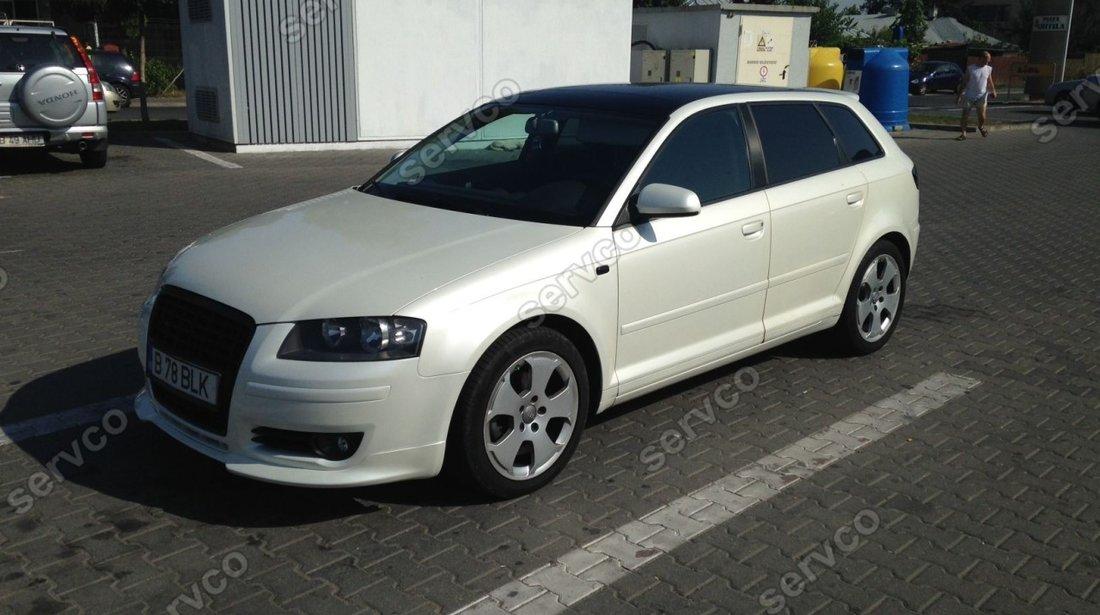 Prelungire adaos Sline bara fata Audi A3 8P Sportback 2005-2008 v1