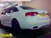 Prelungire adaos spoiler fusta difuzor bara spate Audi A4 B8 Sline S Line RS4 S4 sedan ver. 1