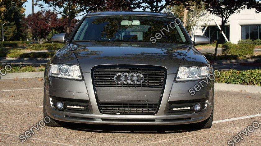 Prelungire adaos Votex Sline tuning sport bara fata Audi A6 C6 4F S6 RS6 2004-2008 v2