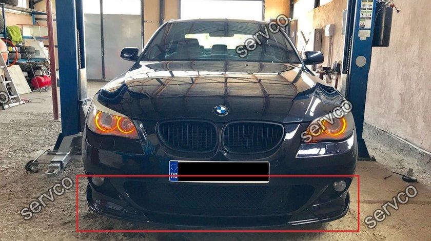 Prelungire Aero adaos ornament bara fata BMW E60 E61 Hamann Mtech pachet M 2003-2010 v4