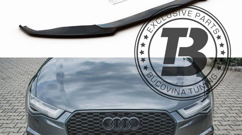 Prelungire bara fata Audi S6 4G C7 / A6 S-Line 4G FL (15-18) Maxton Design