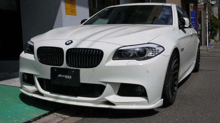 Prelungire bara fata BMW F10 F11 Hamann ver.2 pt bara pachet M tech Aerodynamic