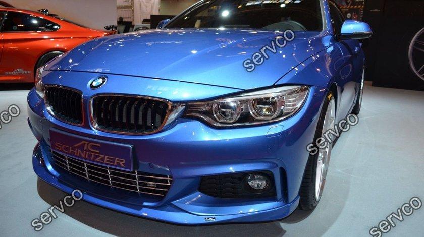 Prelungire bara fata BMW Seria 4 F32 F33 F36 ACS AC SCHNITZER M pack Aero sport M4 tech v3