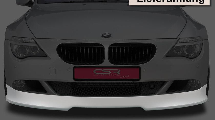 Prelungire Bara Fata BMW seria 6 E63 E64 Coupe Cabrio 10/2007-12/2010 din plastic ABS