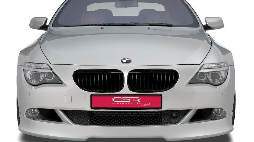 Prelungire Bara Fata BMW seria 6 E64 Cabrio 10/2007-12/2010 din plastic ABS