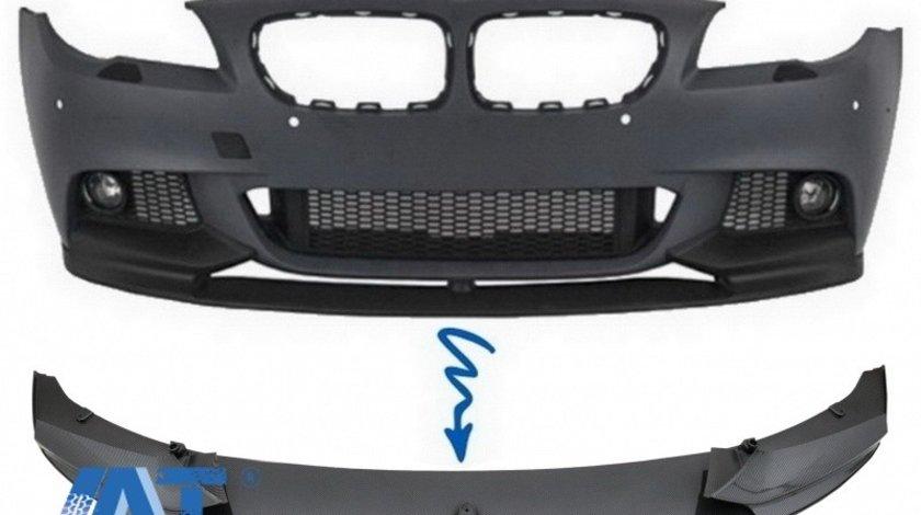 Prelungire Bara Fata Film Carbon compatibil cu BMW Seria 5 F10/F11 (2011-2017) M-Performance Design