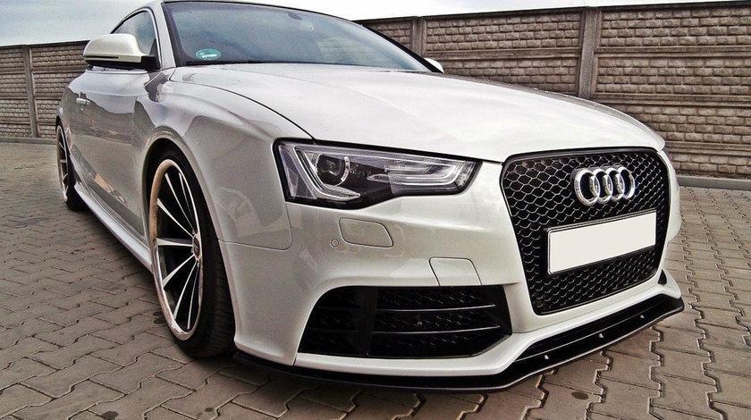 Prelungire bara fata Lip Audi A5 8T RS5 (10-16) Maxton Design