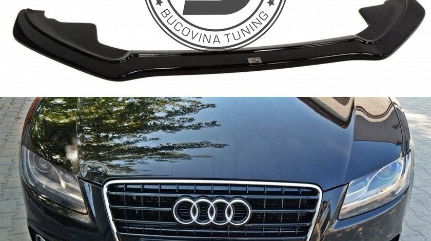 Prelungire bara fata Lip Audi S5 8T/ A5 S-Line 8T (07-11) Maxton Design