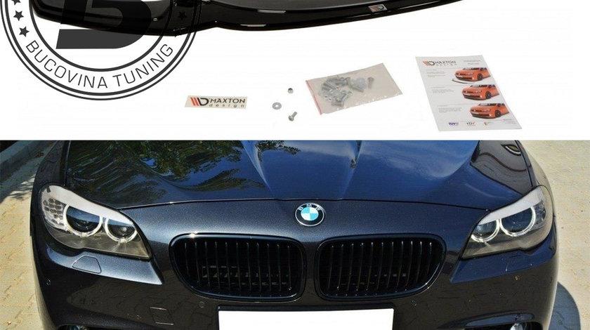 Prelungire bara fata Lip BMW Seria 5 F10/ F11 (11-17) M Tech V2 Maxton Design