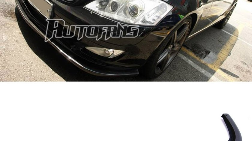 Prelungire bara fata Mercedes Benz S Class W221 Din Carbon