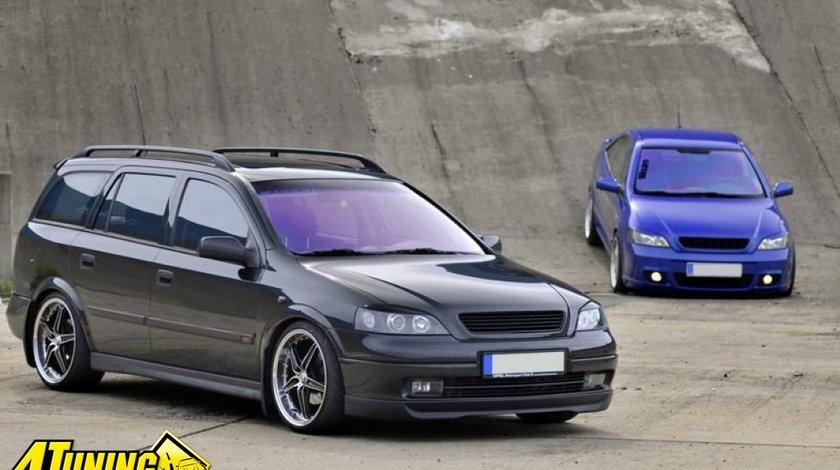 Prelungire bara fata spoiler fusta OPC line 1 Opel Astra G