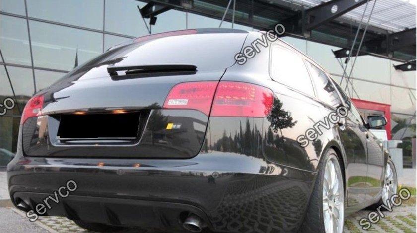 Prelungire bara spate Audi A6 C6 4F ABT Avant Sline RS6 S6 2004-2008 v2