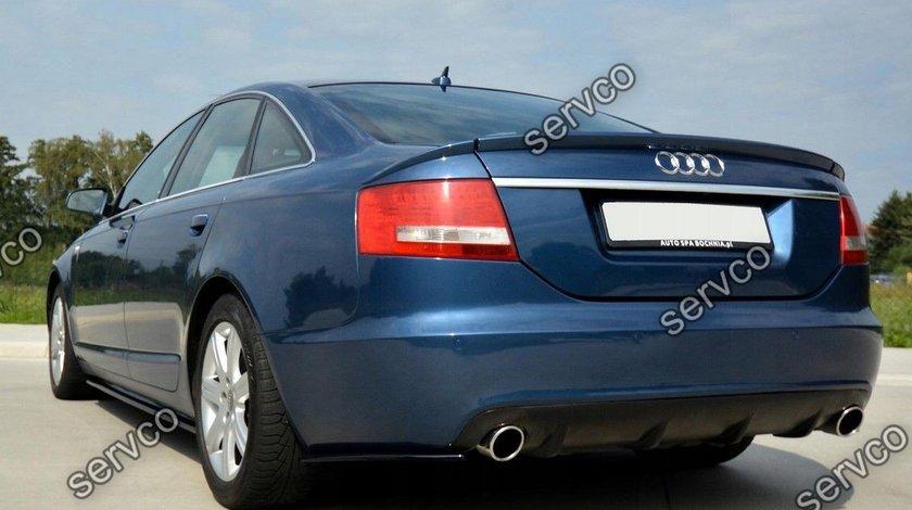 Prelungire bara spate Audi A6 C6 4F Sedan Sline RS6 S6 2004-2008 v1