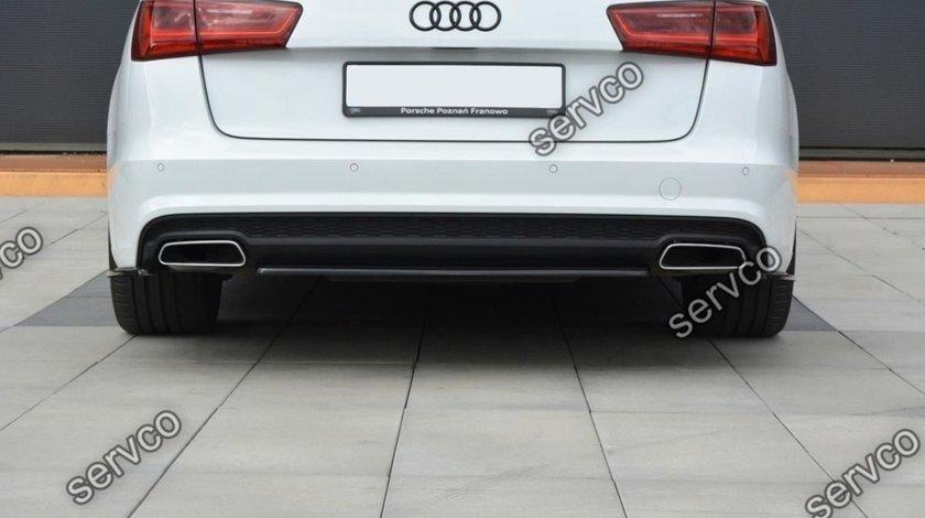 Prelungire bara spate Audi A6 C7 4G Avant S-line FL 2014- 2018 v2