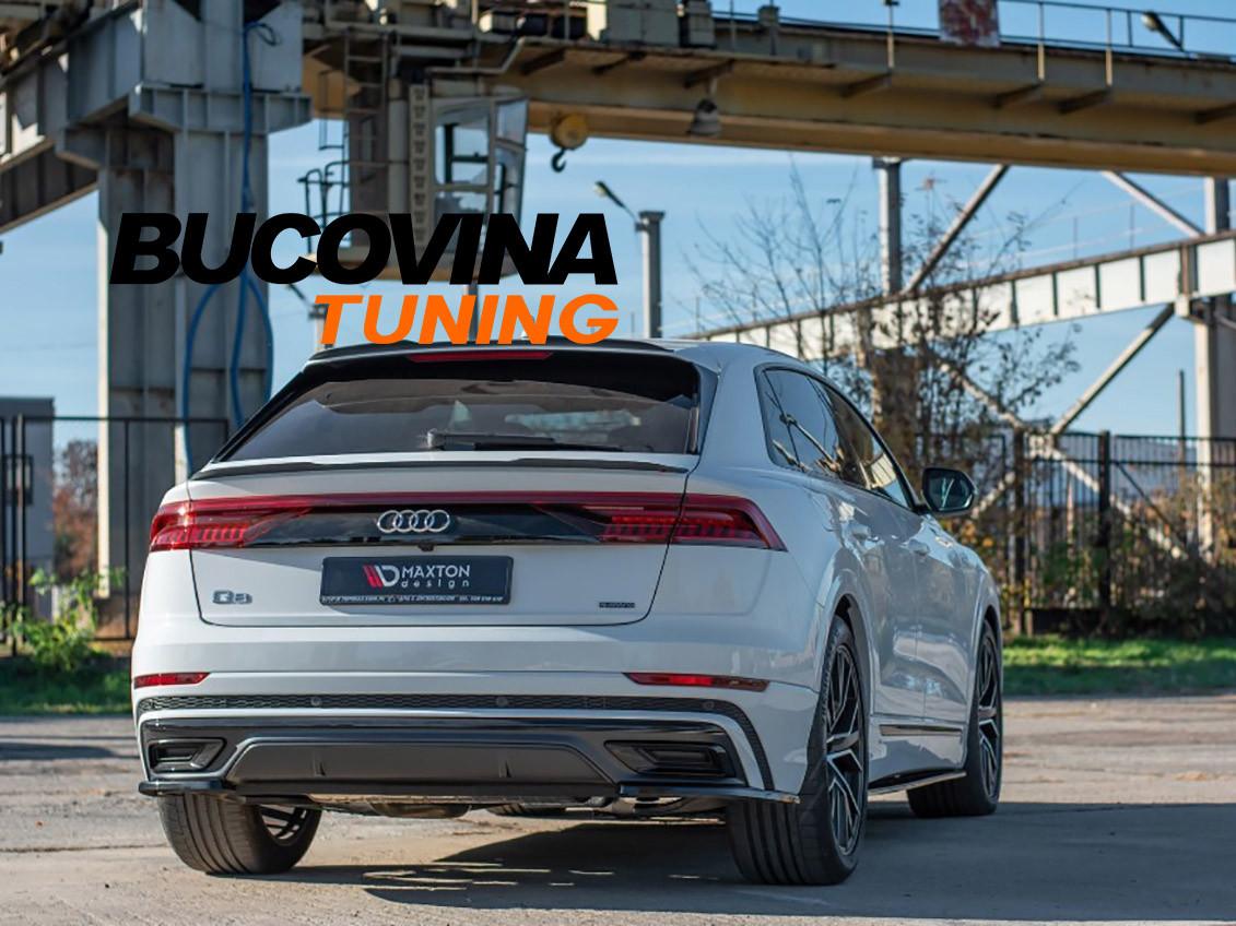 Prelungire bara spate Audi Q8 S-Line (Dupa 2019)