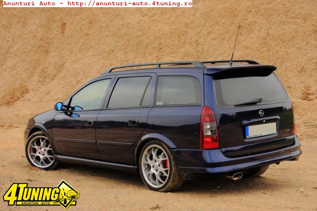 Prelungire Bara Spate Fusta Spoiler Opc Line Opel Astra G Caravan