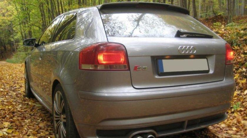 Prelungire bara spate spoiler fusta S3 Audi A3 8P Sportback