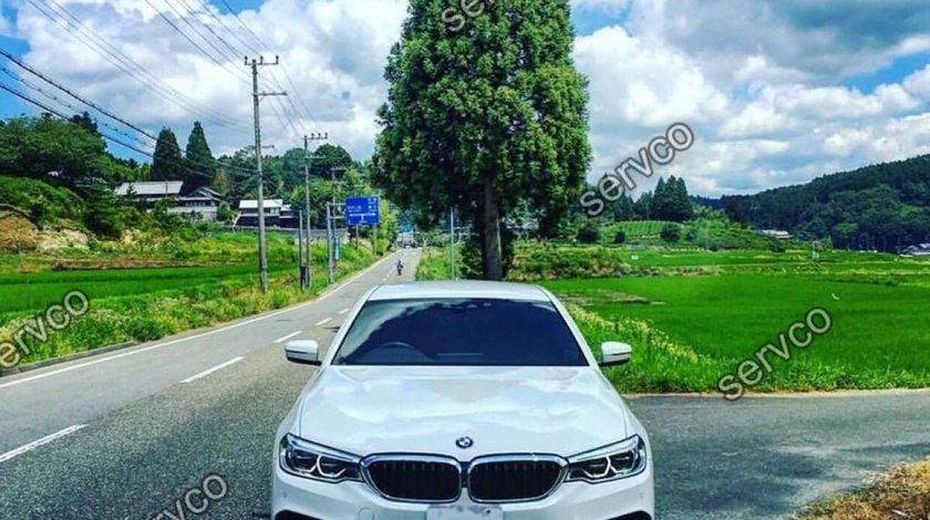 Prelungire buza Hamann difuzor bara fata BMW Seria 5 G30 G31 pt M pachet 2016-2019 v1