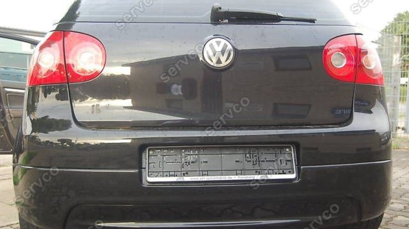 Prelungire buza lip tuning sport bara spate VW Golf 5 GTI GTD GT 2003-2009 ver2