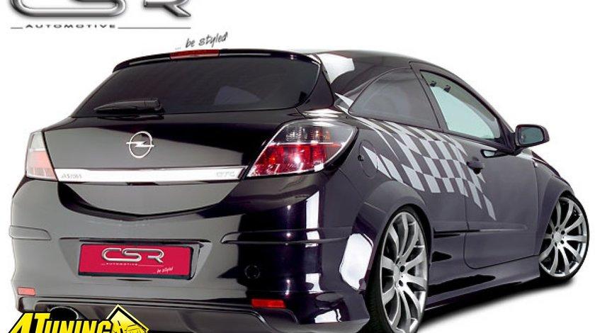 Prelungire Difusor Difuzor Spoiler Bara Spate Opel Astra H GTC 2004 2010 HA003