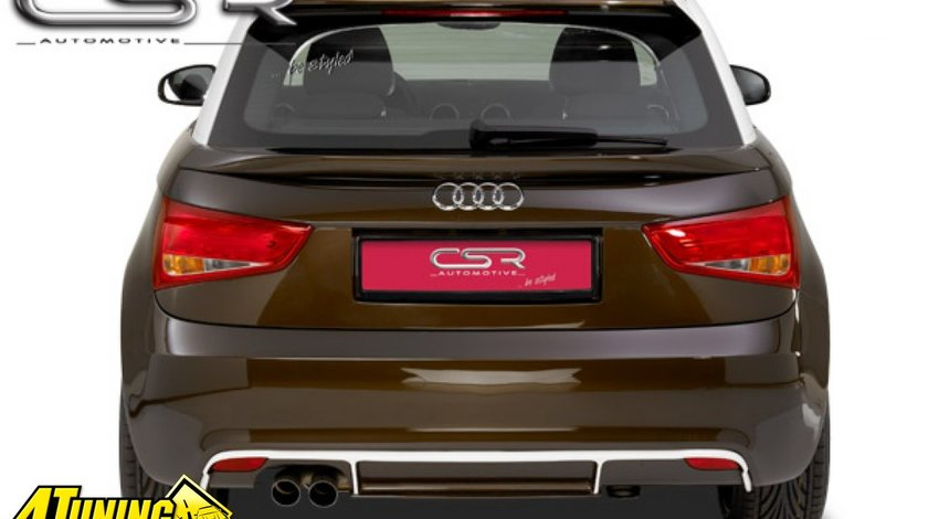 Prelungire difusor difuzor spoiler bara spate Audi A1 HA034 si HA034B si HA056 R32 look