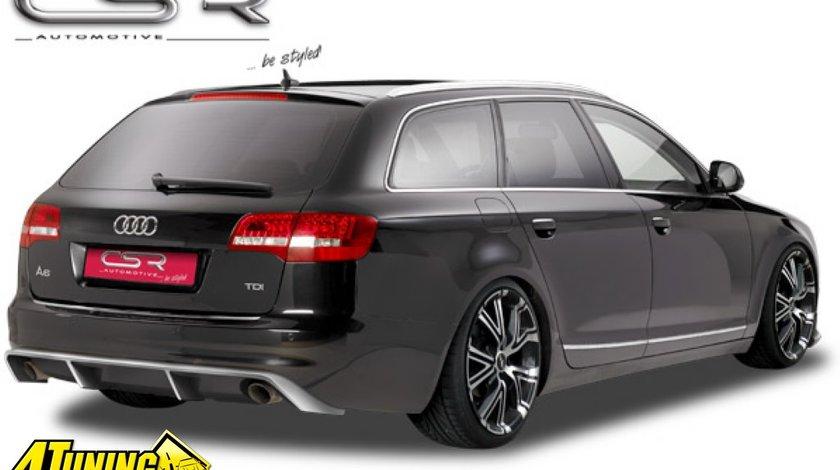 Prelungire Difusor Difuzor Spoiler Bara Spate Audi A6 4F avant + FACELIFT HA114 HA007 HA009