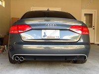 Prelungire difuzor adaos  bara spate Audi A4 Sedan B8 Sline S Line RS4 S4 sedan ver 2