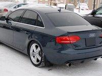 Prelungire difuzor adaos fusta spoiler bara spate Audi A4 B8 Avant Sline S Line RS4 S4 ver3