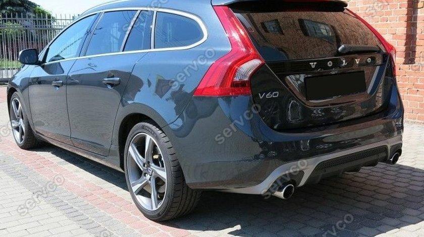 Prelungire difuzor adaos tuning sport bara spate Volvo V60 R 2010-2014 v3