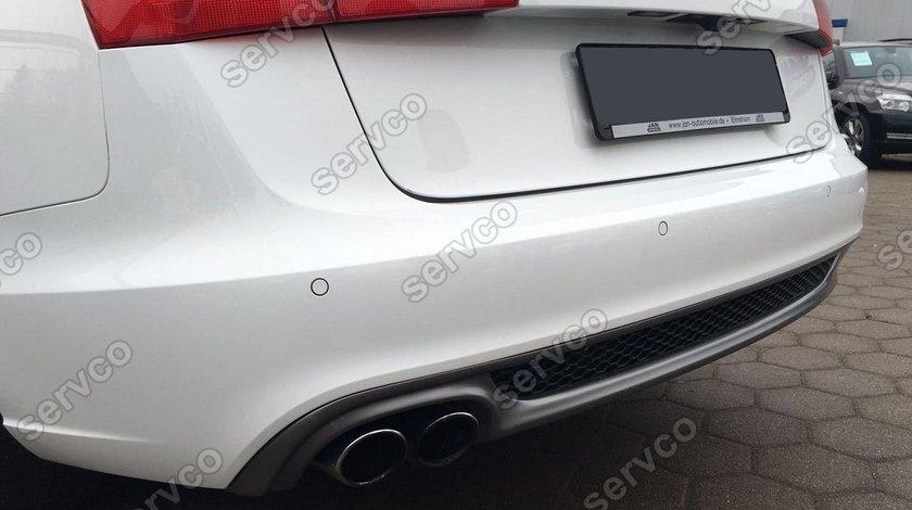 Prelungire difuzor bara spate Audi A6 4G C7 2011 – 2014 ABT Sline S6 Rs6 ver2