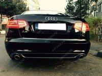 Prelungire difuzor bara spate Audi A6 C6 4F Facelift 2009 2011 Sline S6 Rs6 Sedan ver1
