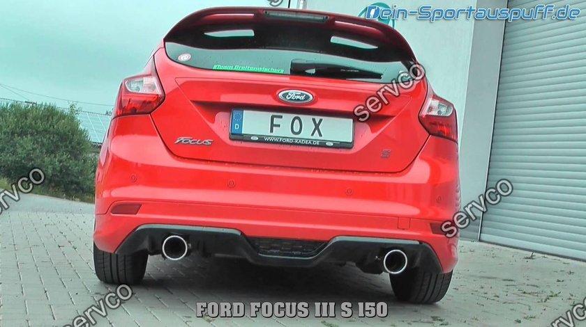 Prelungire difuzor bara spate Ford Focus Mk3 ST Zetec S Titanium 2011-2014 v1