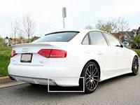 Prelungire difuzor bara spate S Line Audi A4 B8 Avant S line ornament adaos fusta splittere