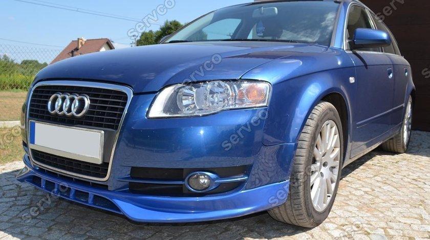 Prelungire difuzor fusta spoiler adaos bara fata Audi A4 B7 2004 2007 Sline S Line ver 2